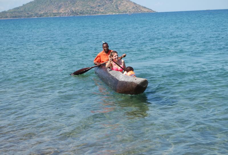 Kanutour über den Nyasasee
