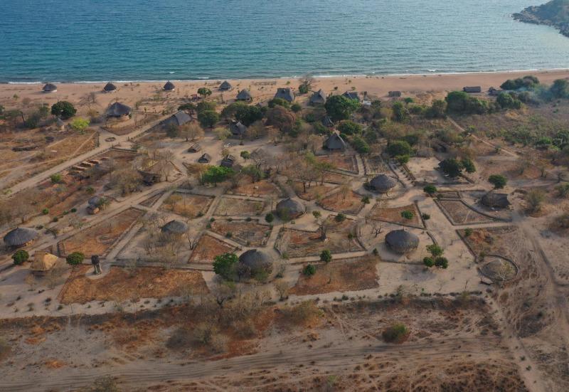 Campingplatz an Nyasasee